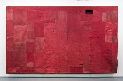 Simon Callery, 'Flat Painting Bodfari 14/15 Cadmium Red Deep', 2015