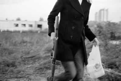 Milica Tomic, 'One Day Instead Of Night, The Machinegun Will Burst If The Light Can Not Come Otherwise', 2009