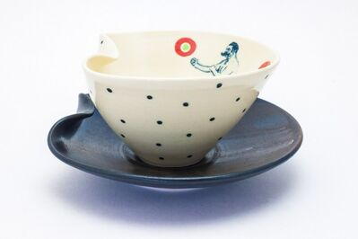 Theresa Robinson, 'Lithograph printed soup bowl with plate', 2018