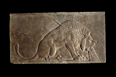 'The Dying Lion, a stone panel from the North Palace of Ashurbanipal', ca. 645 B.C.