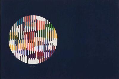 Yaacov Agam, 'Night constellation - Blue', 1979