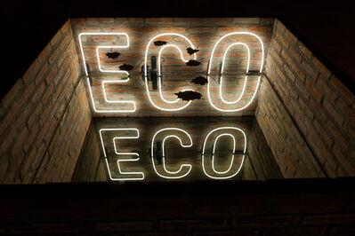 Iván Navarro, 'Eco', 2019
