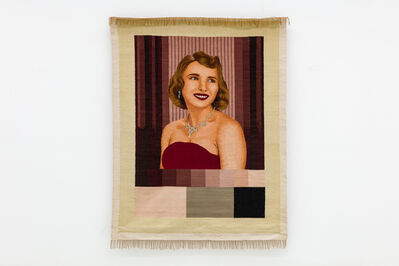 G.T. Pellizzi, 'No Signal (Test Pattern Tapestry 6)', 2018