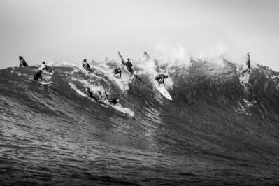 Dina Litovsky, 'Untitled (surfers at Maverick's)', 2018