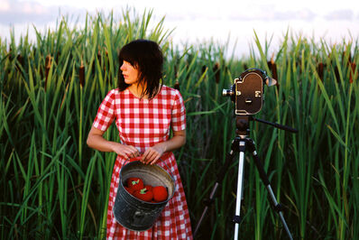 Amalie Atkins, 'Girl with Bolex', 2009