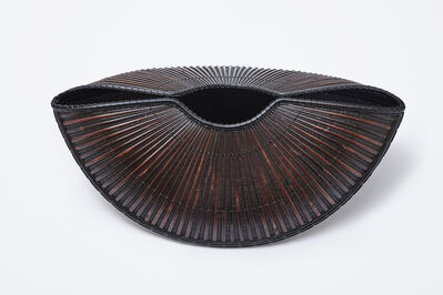 Tanabe Chikuunasai IV, 'Armor (Boat-shaped Flower Basket', 2019