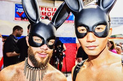Mitchell Funk, ' Folsom Street Fair, BDSM Leather Event #25', 2015