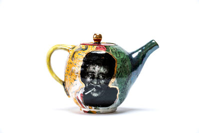 Roberto Lugo, 'Richard Pryor Teapot (II)', 2020