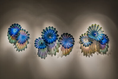 Dale Chihuly, 'Cerulean Indigo Persian Wall', 2018