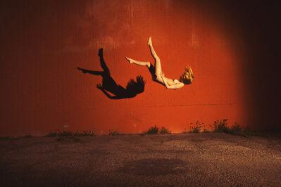 Tyler Shields, 'Red Wall', ca. 2013