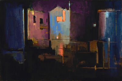 William Wray, 'Night at the Lot', 2019