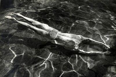 André Kertész, 'Underwater Swimmer', 1918