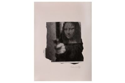 Nick Walker, 'Mona Shot (Black and White)', 2006