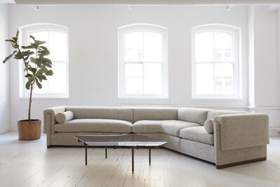 Egg Collective, 'Howard V-Shaped Sectional Sofa', Contemporary
