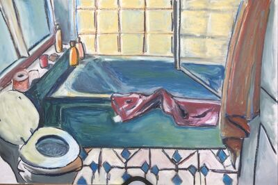 Louise Boulter, 'Day lit bathroom', 2017