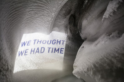 Cédric Maridet, 'We thought we had time', 2014