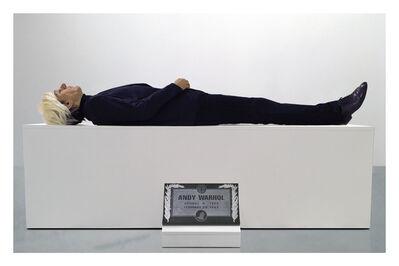 Eugenio Merino, 'Here Died Warhol', 2018
