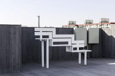 Jeppe Hein, 'Modified Social Bench U', 2008