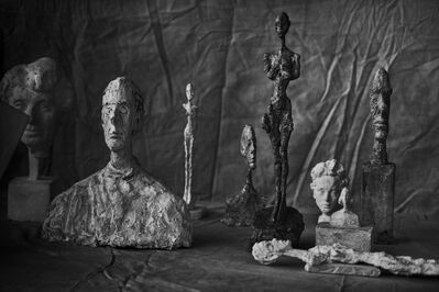 Peter Lindbergh, 'Alberto Giacometti, Group Of Nine, Zurich,  2016', 2016