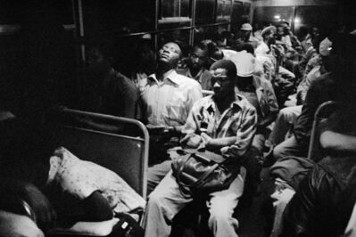 David Goldblatt, '8:45 p.m. Going home: Marabastad-Waterval bus: 8:45 p.m., 45 minutes to the terminal.', 1984