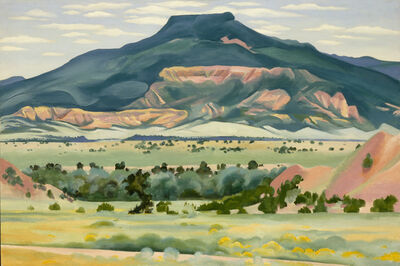 Georgia O'Keeffe, 'My Front Yard, Summer', 1941