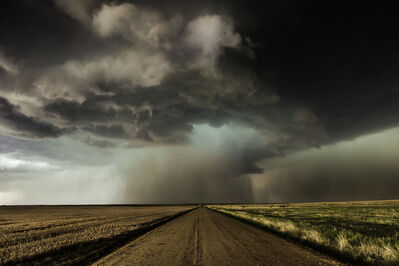 Eric Meola, 'Road with Supercell, Colorado', 2014