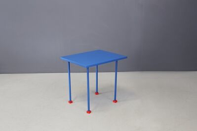Ettore Sottsass, 'Ettore Sottsass Coffee Table Modern first prototype factory by Ghianda, 1980s', 1980