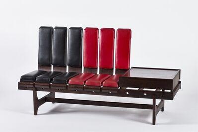 Barovero Mobili Torino, 'Sectional bench', ca. 1955