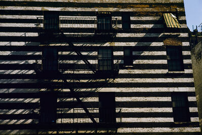 Werner Bischof, 'Striped building with fire escape, New York, USA', 1953