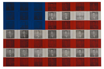 Billy Apple, 'The Presidential Suite: J.F.K', 1964