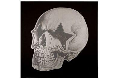 Ron English, 'Star Skull Black / Grey', 2011