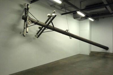 Liao Chien Chung, 'Tilting utility pole 傾倒的電桿', 2019