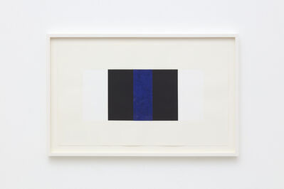 Mary Corse, 'Untitled (Blue band)', 2000