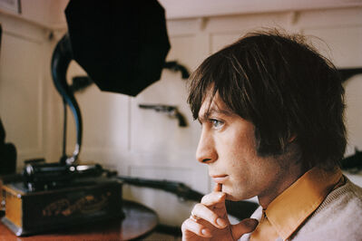 Bent Rej, 'Charlie Watts at Home, London, 1965', 1965