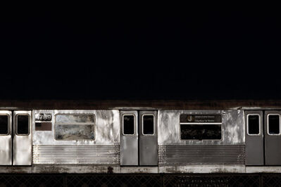 David S. Allee, '4:02 pm, J Train', 2010