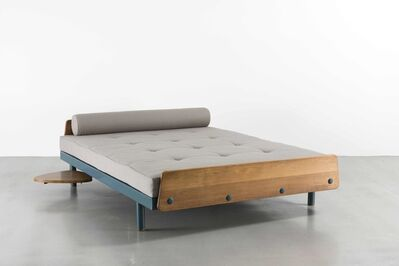 Jean Prouvé, 'SCAL no. 458 bed with a swivelling tablet', 1957