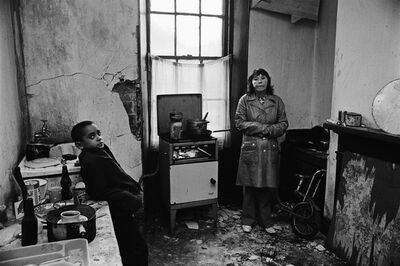 Don McCullin, 'Mother and Son in their Kitchen, Bradford', 1978