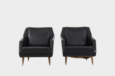 Carlo de Carli, 'Pair of Model 802 armchairs by Carlo De Carli', 1950-1959
