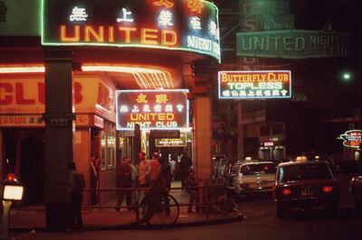 Greg Girard, 'United Club, Wan Chai', 1974