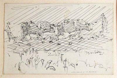 Jacques Villon, 'Labourage à la brunie', 1940