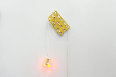 Dana Hemenway, 'Untitled (Cord Weave No. 2 - Yellow)', 2017