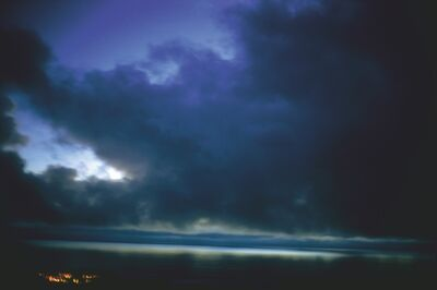 Nan Goldin, 'Brushstrokes in blue sky, Malibu', 2006