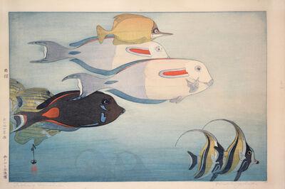 Yoshida Hiroshi, 'Fishes of Honolulu', 1925