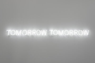 Joël Andrianomearisoa, 'Tomorrow, tomorrow (neon edition)', 2019