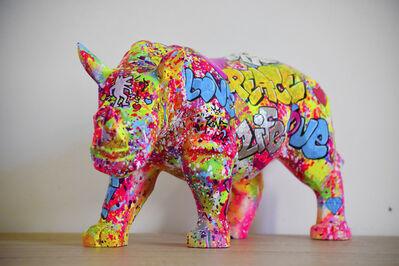 Vincent Bardou, 'Street Rhino', 2019