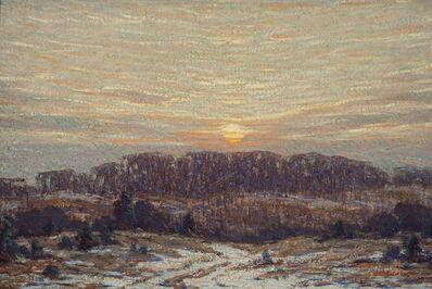 Leonard Ochtman, 'Early Winter', ca. 1900