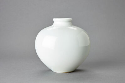 Fance Franck, 'Large Oval Vase, Thick Rim'