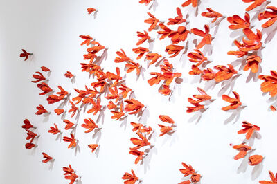 Bradley Sabin, 'Coral Floral Wall Installation ', 2020