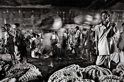 Raghu Rai, 'Flower Market, Kolkata', 2004