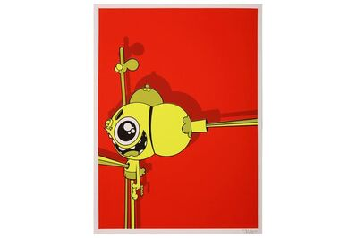 James Marshall (Dalek), 'Space Monkey (Red)', 2003